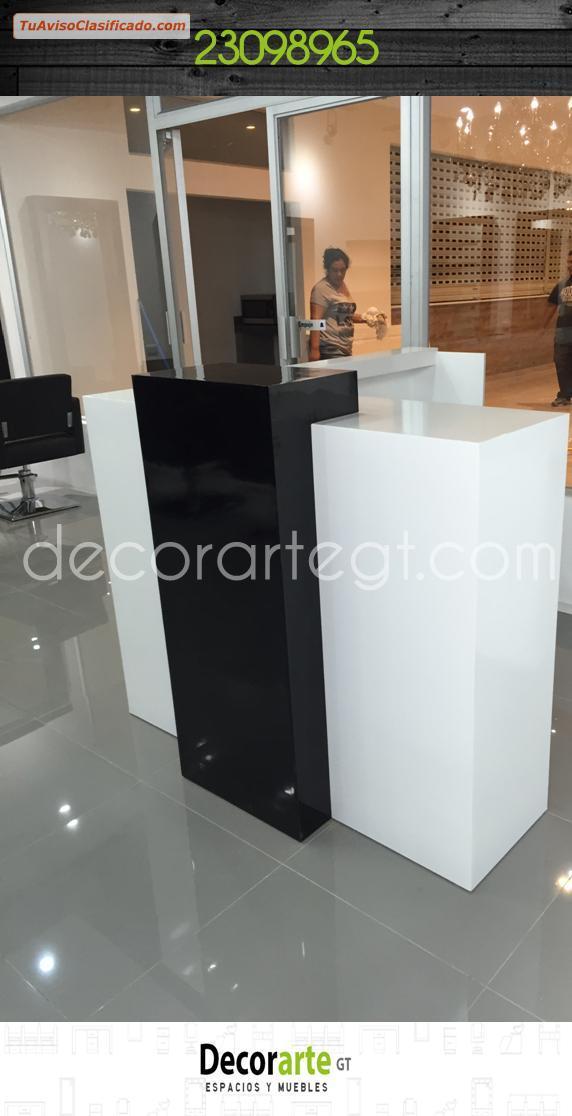 Biblotecas y escritorios de mobiliario y equipamiento en for Diseno de recepciones oficinas