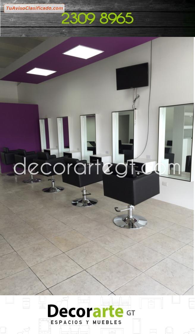 MARCO DE ESPEJO para salones de belleza → Decorarte_gt - Mobiliari...