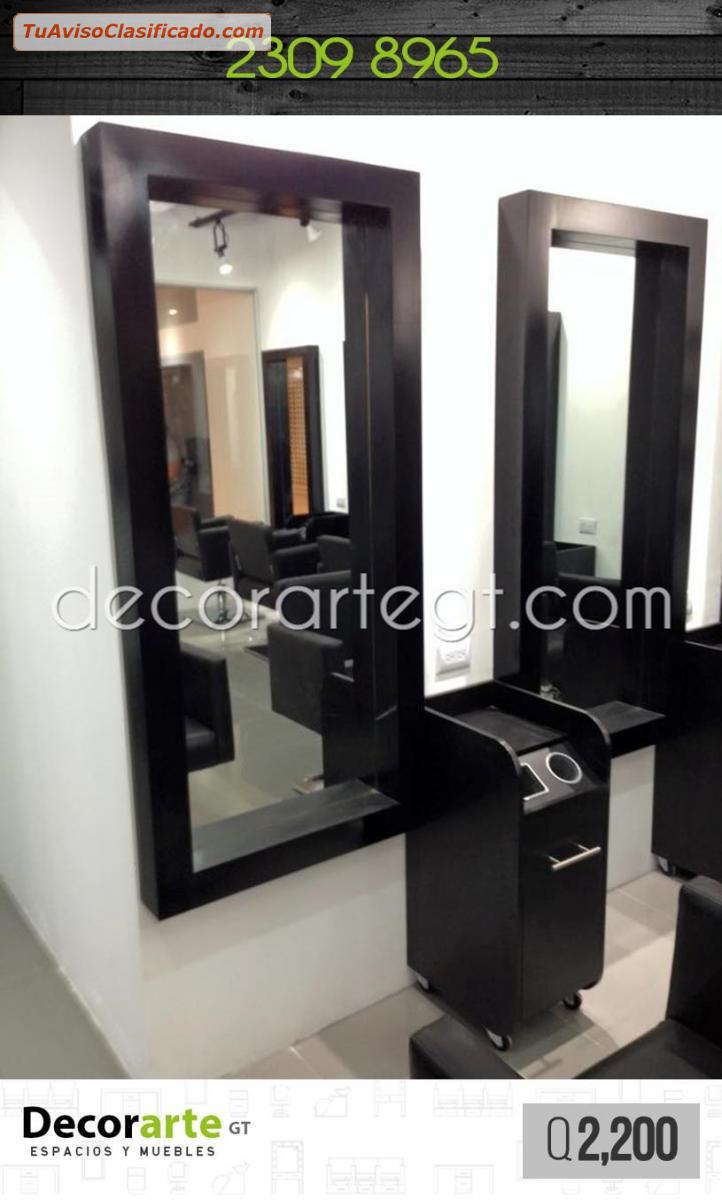 marco de espejo para salones de belleza decorarte gt