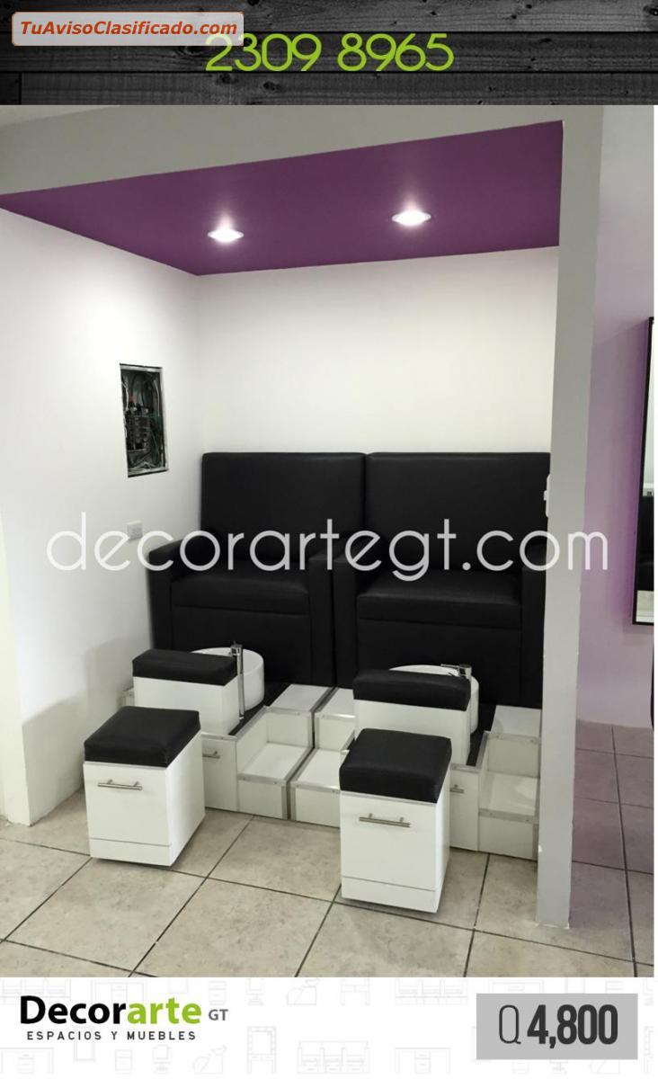 Mobiliario para barberia art culos de oficina y - Sillones para salon ...
