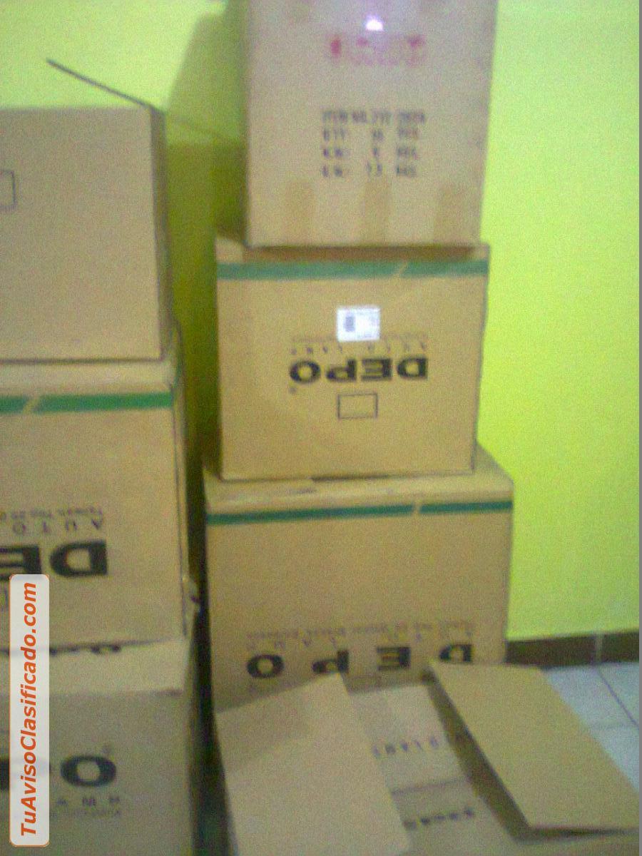 Mobiliario y equipamiento en for Cajas carton embalaje