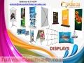 Displays variedad de diseños y precios