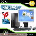 LOTE DE 5 COMPUTADORAS HP DDR3 CON 2 REGULADORES DE VOLTAJE GRATIS