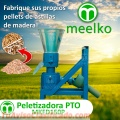 La Máquina Meelko de hacer pellets de concentrados balanceados 150mm PTO - MKFD150P