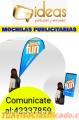 Excelentes Mochilas Promocionales Tel 42337859
