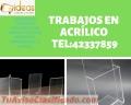 Expertos en fabricación de acrílicos tel:42337859