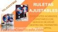 Ruletas Con pedestal tel:42337859