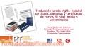 Traducción profesional inglés-español