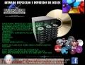 Contamos con Servicio de quemado duplicado impresion de Discos cd y dvd diseño gratis
