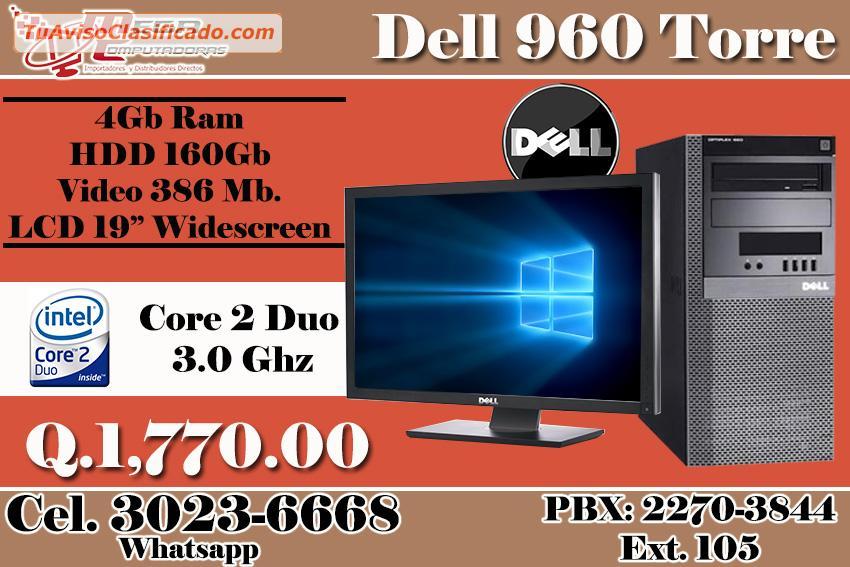 Computadoras dell 970 core 2 duo super modelo y mega - Precio de contenedor ...