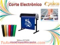 Stickers en corte electronico