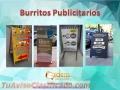 Burritos de metal con lona tiro y retiro