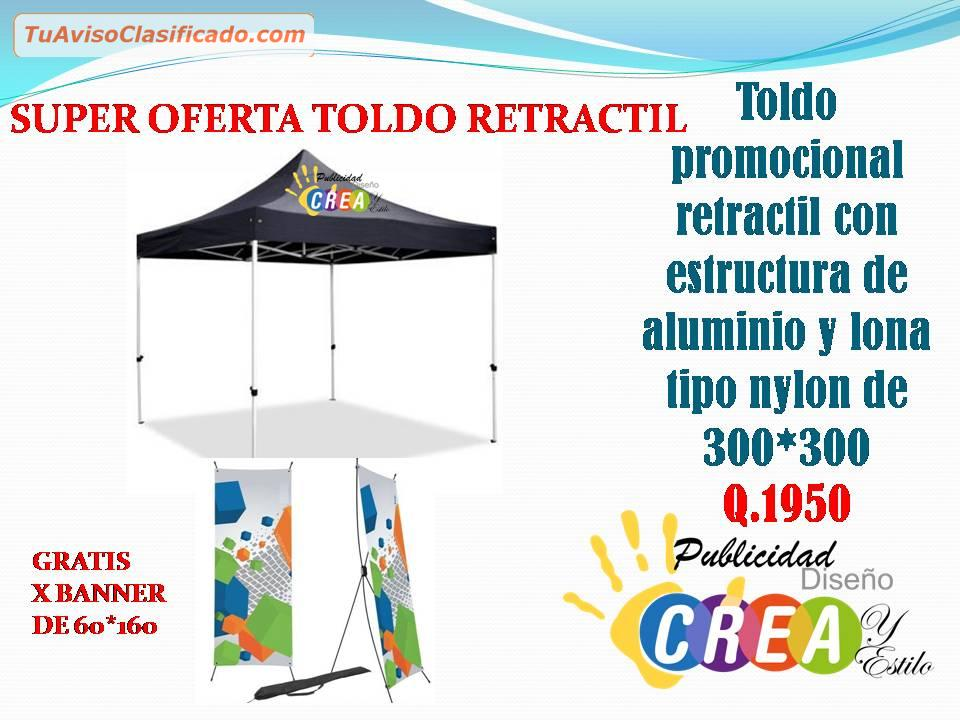 Ofertas de toldos retractil empresas e industrias for Oferta toldos retractiles