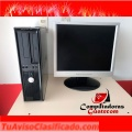 COMPUTADORAS COMPLETA CORE 2DUO DELL 2GB RAM , 80GB DISCO DURO