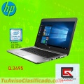 Laptop hp core i5 de 6ta generacion  disco ssd-m2