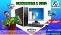 COMPUTADORAS COMPLETAS CON MONITOR DE 19P, CON ENVIÓ GRATIS, TEL: 5701-6630 A TAN SOLO Q 1