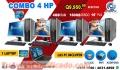 COMBOS PARA QUE INICIES TÚ NEGOCIO PROPIO, COMBO 4+1 COMPUTADORAS HP+ 01 LAPTOP COREi5