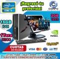 COMPUTADORAS HP COREi5, 16GB RAM, 1TERA DISCO DURO, 02GB DE VIDEO, LCD 22P A Q 3,950.00