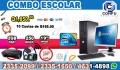 OMPUTADORAS DELL+MUEBLE+IMPRESORA+BOCINAS+WIFI, Q 1,850.00!!