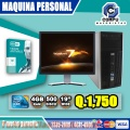 COMPUTADORAS PROFESIONALES, PROCESADOR COREi7, 16GB RAM, 1TERA, 02 GB VÍDEO, MONITOR LCD 2