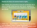DISPLAY DE MESA LLAMA AL 42337859