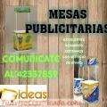 MESAS PUBLICITARIAS LLAMA AL: 42337859
