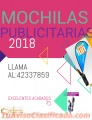 Mochilas Publicitarias.. Comunícate al:42337859