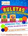 Ruletas Ajustables Con adhesivo full color llama al:42337859