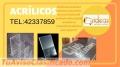 Excelente fabricación de acrílicos tel:42337859
