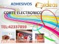 Adhesivos full  color + corte electrónico
