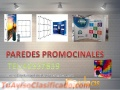 Paredes Promocionales Full color