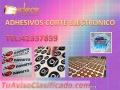 Adhesivos Impresion Full color Corte Electrónico
