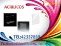 Acrílicos en Formas tel:42337859