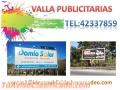 Vallas Publicitarias Tel:42337859