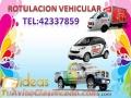 Rotulacion de Camiones, carros, motos, paneles