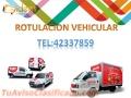 Rotulacion de Paneles,camiones,carros,etc