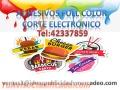 Adhesivos Full color Mas Corte Electrónico