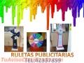 Ruletas de Pvc Publicitarias