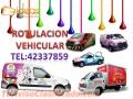 Rotulacion Vehicular Completa o Corte electrónico