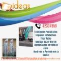 Banderolas Publicitarias Impresas en Tela Plazo
