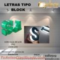 ¡¡TODO TIPO DE LETRAS TIPO BLOCK!!