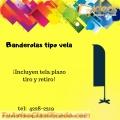 BANDEROLAS TIPO VELA