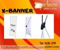 Exhibidores X-Banner