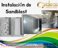 Instalación de Sandblast