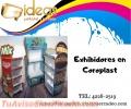 Exhibidores de Coroplast