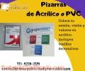 Pizarras de Acrílico y PVC