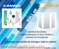 Exhibidores Tipo Roll Up y X-Banner