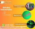 Rótulos de Señalización Industrial en diversos materiales