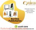 Elaboración de Burritos Publicitarios