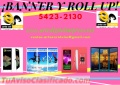 BANNER Y ROLL UP